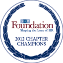 Foundation 2012 Chapter Champions